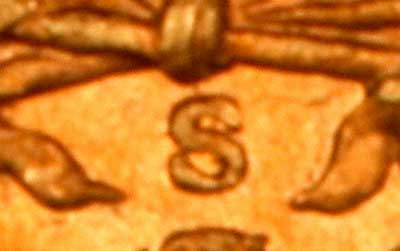 Close Up of Mintmark