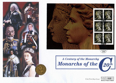 1900 Sovereign Century of the Monarchy - First Day Cover