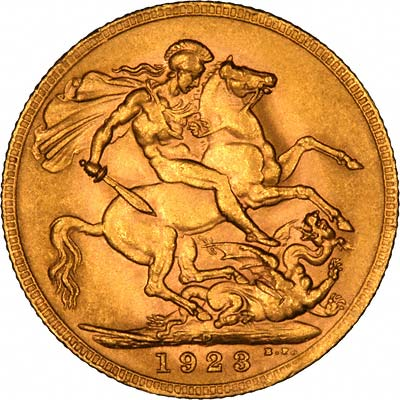 1923 Gold Sovereign