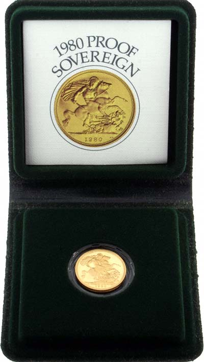 Our 1980 Proof Sovereign Reverse Photograph