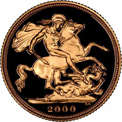 Reverse of Year 2000 Sovereign