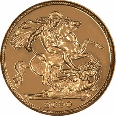 A Year 2000 'Bullion' Sovereign