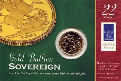 2001 Sovereign in Display Card