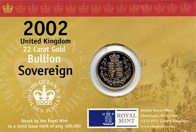 2002 Sovereign in Display Card