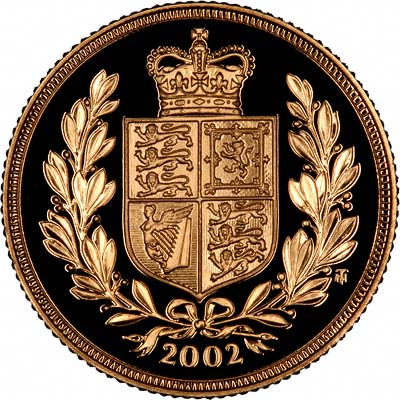 Reverse of 2002 Proof Sovereign