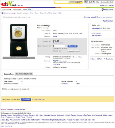 bobzsingh full sovereign eBay Auction Listing