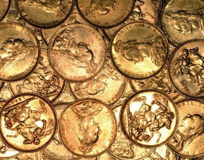 Gold Sovereigns Available in Quantity